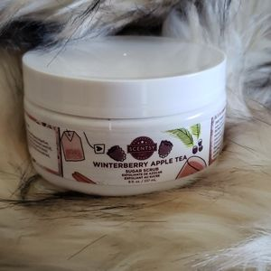 NWT Scentsy Winterberry Apple Tea Sugar Scrub